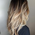 blond-to-brunette-long-wavy-balayage