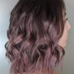 dark rose mauve hair color