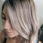 rose toned dimensional blonde